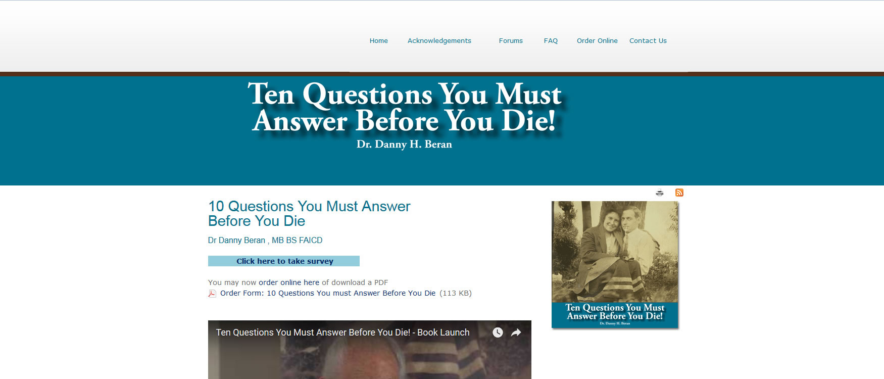 10 Questions you must ask before you die